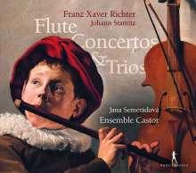 Franz Xaver Richter (1709-1789): Flötenkonzert e-moll, CD
