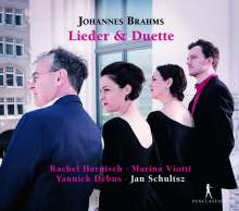 Johannes Brahms (1833-1897): Lieder & Duette, 2 CDs
