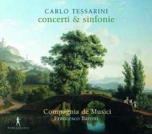 Carlo Tessarini (1690-1766): Concerti & Sinfonie, CD