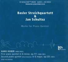 Hans Huber (1852-1921): Klavierquintett Nr.1 & 2 (opp. 111 & 125), CD