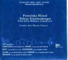 Franziska Hirzel & Tobias Schabenberger - Lieder der Maria Stuart, 1 CD und 1 Blu-ray Disc