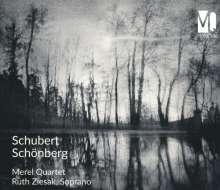 Arnold Schönberg (1874-1951): Streichquartett Nr.2 op.10, CD