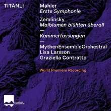 Gustav Mahler (1860-1911): Symphonie Nr.1 (in der Version für Kammerensemble von Klaus Simon), CD