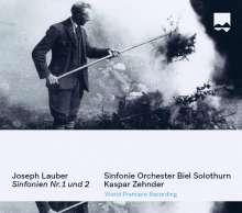 Joseph Lauber (1864-1952): Symphonien Nr.1 Es-Dur & Nr.2 a-moll, CD