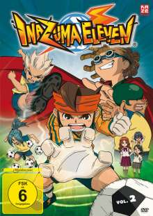 Inazuma Eleven Vol.2 (Episoden 8-14), 2 DVDs