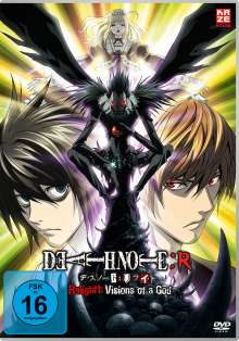 Death Note Relight 1: Visions of a God, DVD