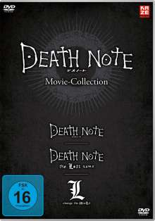 Death Note Movies 1-3: Death Note / The Last Name / L-Change the World, 3 DVDs