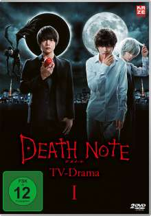 Death Note - TV-Drama Vol. 1, 2 DVDs