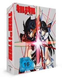 Kill la Kill (Komplettbox) (Blu-ray), 4 Blu-ray Discs