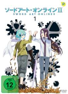 Sword Art Online 2 Vol. 1, 2 DVDs