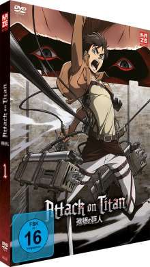 Attack on Titan Vol. 1, DVD