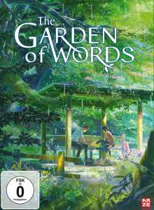 The Garden of Words, DVD