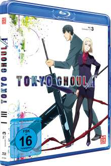 Tokyo Ghoul Root A (Season 2) Vol. 3 (Blu-ray), Blu-ray Disc