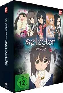Selector Infected Wixoss (Gesamtausgabe), 4 DVDs