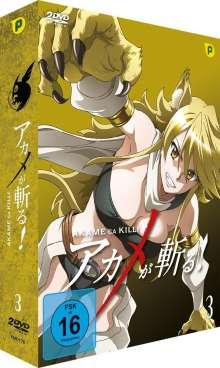 Akame ga Kill Vol. 3, 2 DVDs