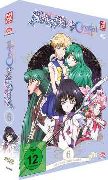 Sailor Moon Crystal Vol. 6, 2 DVDs