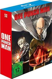 One Punch Man Staffel 1 (Blu-ray), 3 Blu-ray Discs