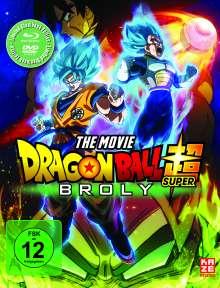 Dragonball Super: Broly (Blu-ray & DVD im Steelbook), 1 Blu-ray Disc und 1 DVD