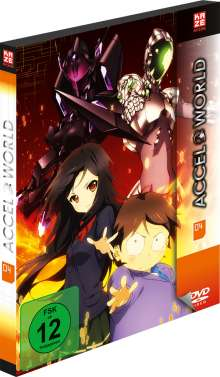 Accel World Vol. 4 (Blu-ray), Blu-ray Disc