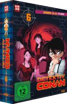 Detektiv Conan: Die TV Serie Box 6, 5 DVDs
