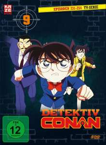 Detektiv Conan: Die TV Serie Box 9, DVD