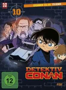 Detektiv Conan: Die TV-Serie Box 10, 5 DVDs