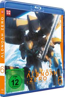 Aldnoah.Zero (Staffel 2) Vol. 6 (Blu-ray), Blu-ray Disc