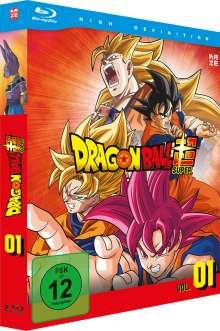 Dragonball Super - 1. Arc: Kampf der Götter (Blu-ray), 2 Blu-ray Discs