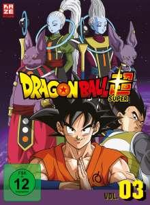 Dragonball Super - 3. Arc: Universum 6, 3 DVDs