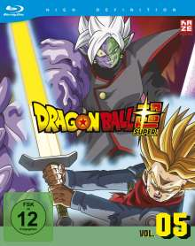 Dragonball Super - 5. Arc (Blu-ray), 1 Blu-ray Disc und 2 DVDs