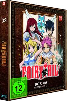 Fairy Tail Box 2 (Blu-ray), 3 Blu-ray Discs