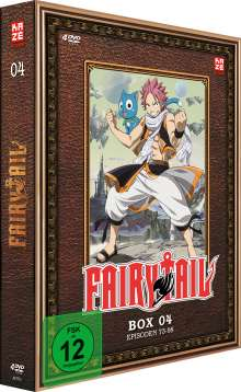 Fairy Tail Box 4, 4 DVDs