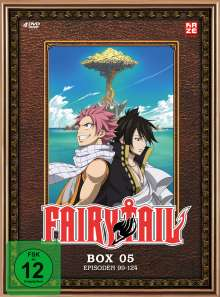Fairy Tail Box 5, 4 DVDs