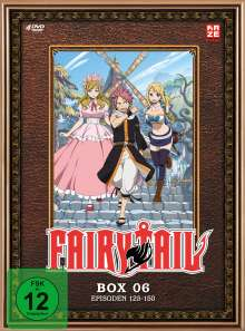 Fairy Tail Box 6, 4 DVDs