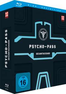 Psycho-Pass Staffel 1 (Gesamtausgabe) (Blu-ray), 4 Blu-ray Discs