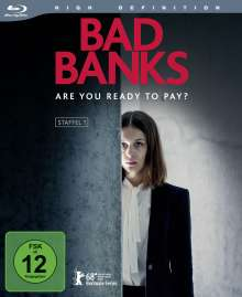 Bad Banks Staffel 1 (Blu-ray), 2 Blu-ray Discs