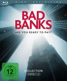 Bad Banks Staffel 1 & 2 (Blu-ray), 4 Blu-ray Discs