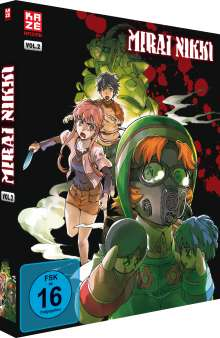 Mirai Nikki Vol. 2, DVD