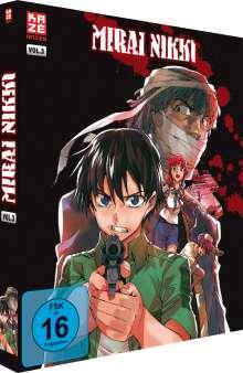 Mirai Nikki Vol. 3 (Blu-ray), Blu-ray Disc