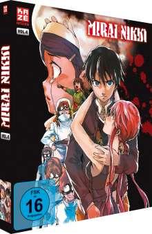 Mirai Nikki Vol. 4 (Blu-ray), Blu-ray Disc