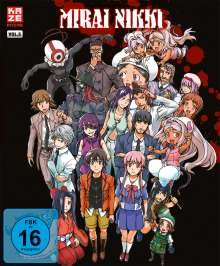 Mirai Nikki Vol. 5 (Blu-ray), Blu-ray Disc