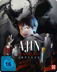 Ajin - Demi-Human: Impulse (Blu-ray im Steelbook), Blu-ray Disc