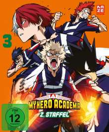My Hero Academia Staffel 2 Vol. 3, DVD