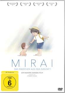 Mirai - Das Mädchen aus der Zukunft, DVD