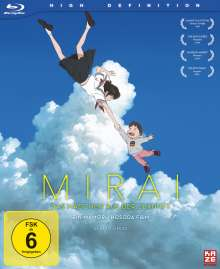 Mirai - Das Mädchen aus der Zukunft (Limited Deluxe Edition) (Blu-ray), Blu-ray Disc