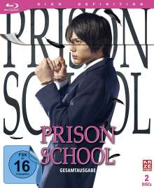 Prison School (Live Action) (Gesamtausgabe) (Blu-ray), 2 Blu-ray Discs
