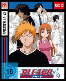Bleach TV-Serie Box 3 (Blu-ray), 3 Blu-ray Discs