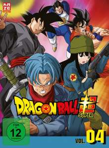Dragonball Super - 4. Arc: Trunks aus der Zukunft, 3 DVDs