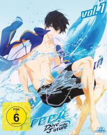 Free! Dive to the Future Vol. 1 (Blu-ray), Blu-ray Disc
