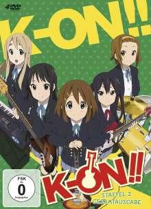 K-ON! Staffel 2 (Gesamtausgabe), 4 DVDs